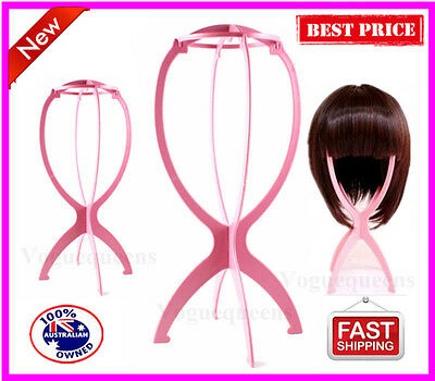 Professional Folding wig stand/Stand Holder Display for wig or hat display tool