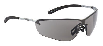 Bolle Silium Safety Cycling / Skiing Glasses Metal Frame with Shaded Smoke Lens
