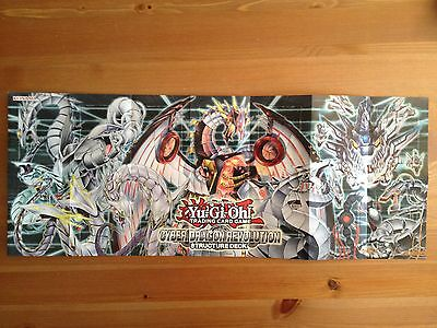 Paper Playmat - Cyber Dragon Revolution Structure Deck - Yu-Gi-Oh! - Yugioh