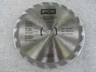 Ryobi 18v 7 14 20 tooth carbide tipped circular saw blade csb134l hom 681323001 ryobi carbide blade 7 14 csb133l 7 greentooth Image collections