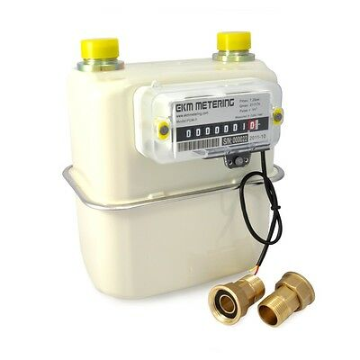 """0.75"""" Pipe Gas Meter Manage Utility Bills Natural Gas Boiler or Space Heater #40"""