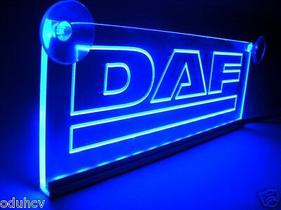 24V LED Cabin Interior Light Plate for DAF Truck Neon Illuminating Table Sign