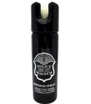 Police Magnum pepper spray 3oz GID Safety Lock Self Defense Security Protection