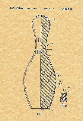 Ready To Be Framed! Vintage Motorized Surfboard 1966 Art Print Patent Print
