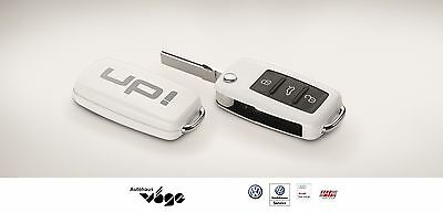 "VW Volkswagen Original Schlüsselcover Key Cover ""UP""  Weiß  1S0087012  084"