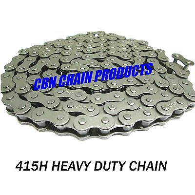 Moped Drive Chain, Tomos, 415H X 122 Includes Master Link