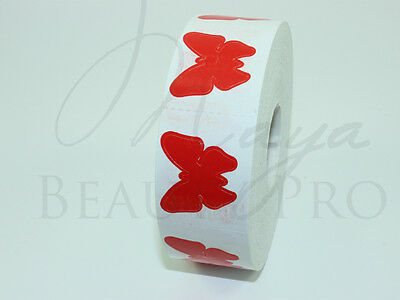 Roll of 1000 BUTTERFLY Tanning Sticker Scrapbooking SpraytanTanning Bed Tattoo