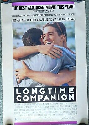 1990 Longtime Companion Original Movie Poster 27x40 Single Sided Rolled