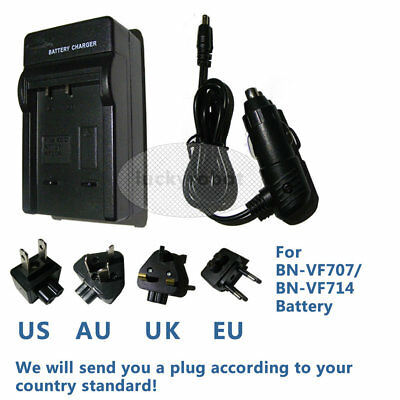 Battery Charger for jvc GR-D270U Mini DV GZ-MG26EK BN-VF714U GR-D250 camcorder