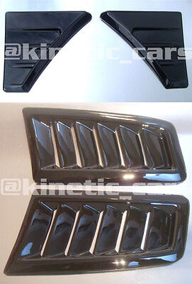Focus RS MK2 style Bonnet vents AND Wing vents kit ABS plastic