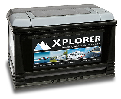 12V Sealed Xplorer 130 Ah Heavy Duty Motorhome Leisure  Battery