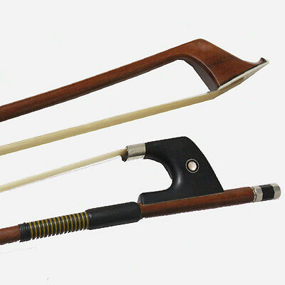 4/4 German Double Bass Bow - ROUND STICK -4/4 Double Bass Bow FREE SHIPPING 2UK