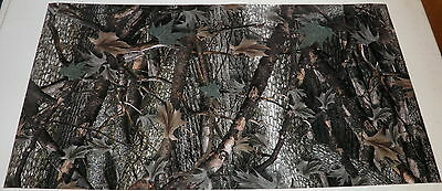 "Camo Camoflage medium pattern Vinyl 12"" X 24"" sheet  woods"