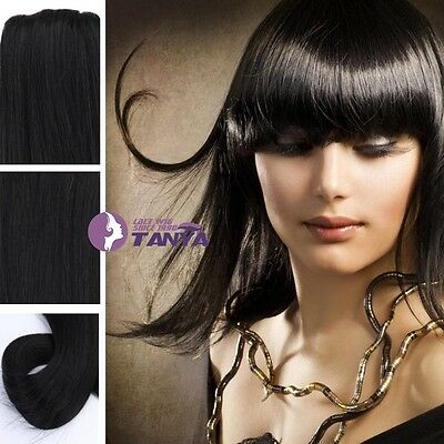 120g  full head clip in remy human hair extension 9pcs cheap on sale