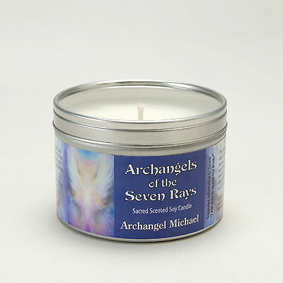 Archangels Of The Seven Rays Michael Aromatherapy Soy Candle Confidence