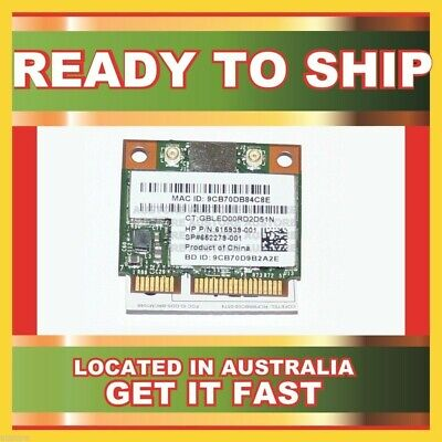 Genuine 615939-001 Hp 802.11 B/g/n Wlan Combo Bluetooth Card For 310-1000Kr