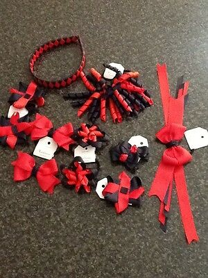 Madelienas Handmade: Girls School Hair Accessories Set