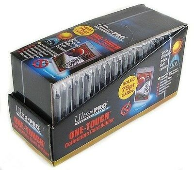 Ultra Pro 1 One Touch Magnetic Card Holders ~ 75pt 1 Box ( 25 )