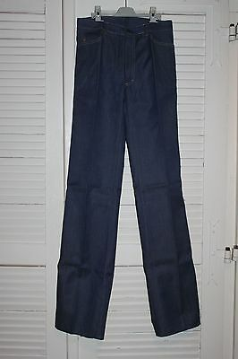Vintage et neuf Jeans BRIFO - Taille 36 - Tergal - Made in France