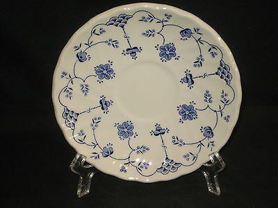 Myott FINLANDIA Blue and White Saucer Staffordshire England