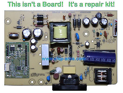 Repair Kit Capacitors For DELL ST2320LF For Power Supply Board ILPI-240 1 Rev:A
