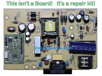Repair Kit Capacitors For DELL E2210 For Power Supply Board ILPI-240 1 Rev:A