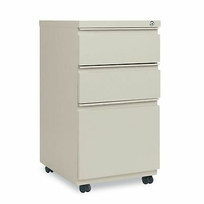 Alera Three-Drawer Mobile Pedestal File With Full-Length Pull  - ALEPBBBFPY