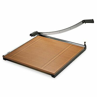 """X-ACTO Wood Base Guillotine 24"""" Paper Cutter  - EPI26624"""