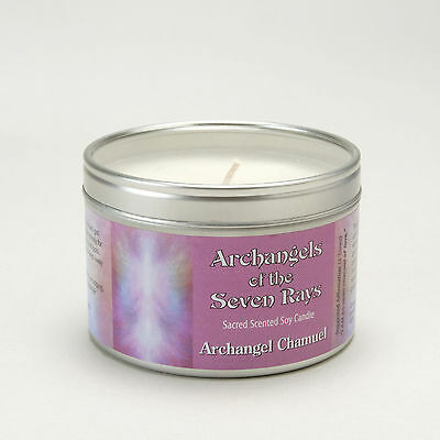 Archangels of the Seven Rays  -  Chamuel  Spiritual, Aromatherapy Soy Candle