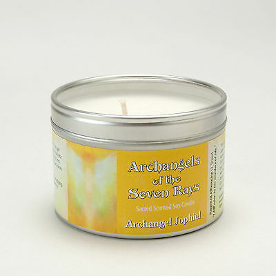 Archangels Of The Seven Rays Jophiel Spiritual Aromatherapy Soy Wax Candlle