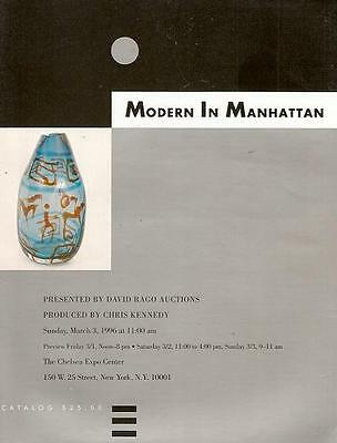 Rago Auction  Modern In Manhattan - Catalog March 3,1996