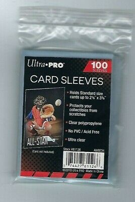500 Ultra Pro Sports Card Soft Penny Sleeves FREE SHIPPING