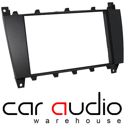 CT24MB25 Double Din Car Stereo Fascia Panel Adaptor For Mercedes C Class 05-2007