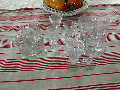 9verres  tres anciens bistrot +4petites chopes  4e60 point relay