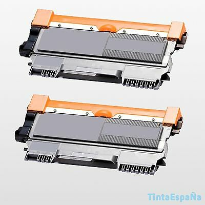 2 TONER COMPATIBLE NonOem BROTHER TN2010 - TN2220 - DCP7055W DCP7057 HL2130