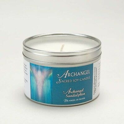 Archangel Sandalphon Aromatherapy Sacred Soy Wax Candle