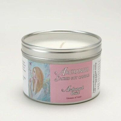 Archangel Ariel Aromatherapy Sacred Soy Wax Candle