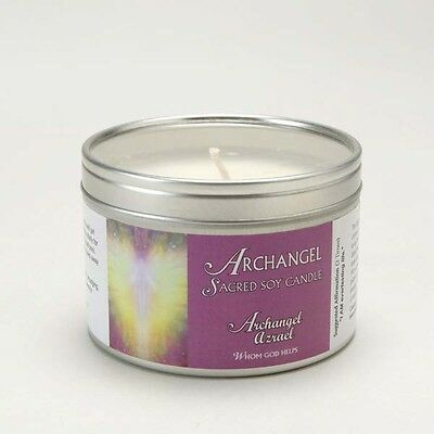 Archangel Azrael Aromatherapy Sacred Soy Candle