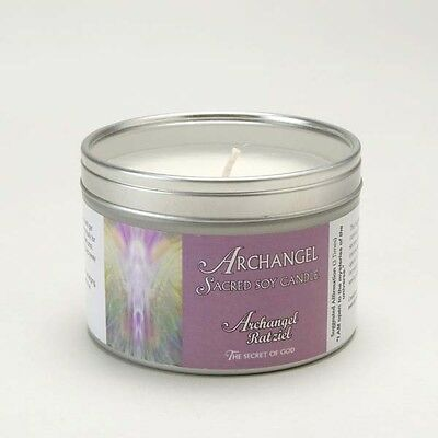 Archangel Ratziel Aromatherapy Sacred Soy Candle
