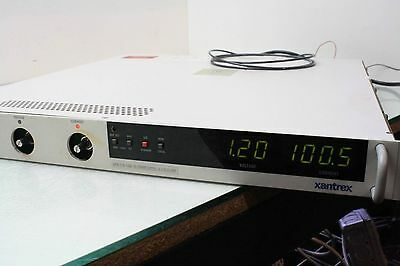Xantrex XFR7.5-140 Variable DC Power Supply 0-7.5V 0-140A   GEN8-180-IS510