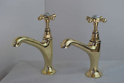 Old Brass Belfast Kitchen Sink Taps Old Reclaimed & Refurbished Vintage