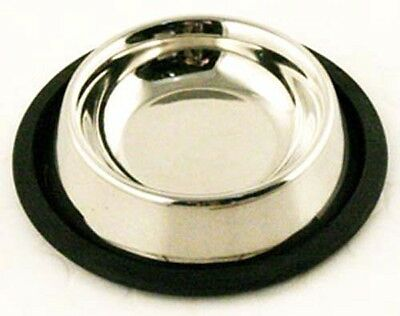 AI Staineless Steel Non Slip Cat Bowl Feeding Dish 15.5cm