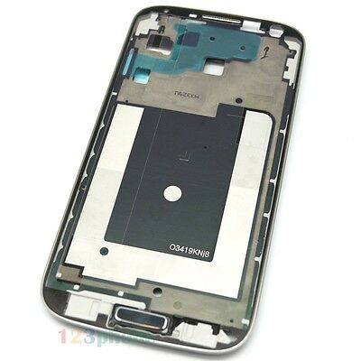 BLUE HOME + FRONT MIDDLE FRAME CHASSIS HOUSING FOR SAMSUNG GALAXY S4 i9500