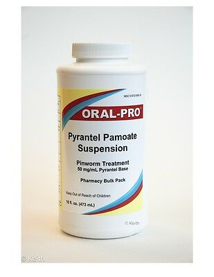 Oral-Pro Pyrantel Pamoate (16 ounce) Vanilla Flavored