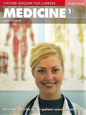 Oxford English for Careers MEDICINE 1 Student's Book by Sam McCarter @NEW@