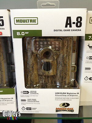Moultrie A-8 Digital Game Trail Camera 8 Megapixel FREE SHIPPING