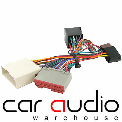 CT10FD02 Bluetooth Parrot SOT Lead T-Harness ISO Adaptor For FORD KA Upto 2008