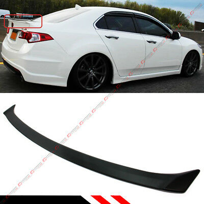 09-2014 Acura Tsx Abs Primered Cu1 Cu2 Accord Jdm Rear Trunk Deck Lid Spoiler