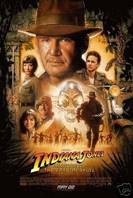 INDIANA JONES KINGDOM CRYSTAL SKULL 2008 Topps COMPLETE TRADING CARD SET (1-90)