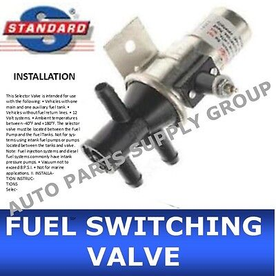 6 port fuel gas dual tank selector valve chevy dodge ford gmc new fuel tank selector switching valve 3 port main aux gas fv1t fv1 dual switch